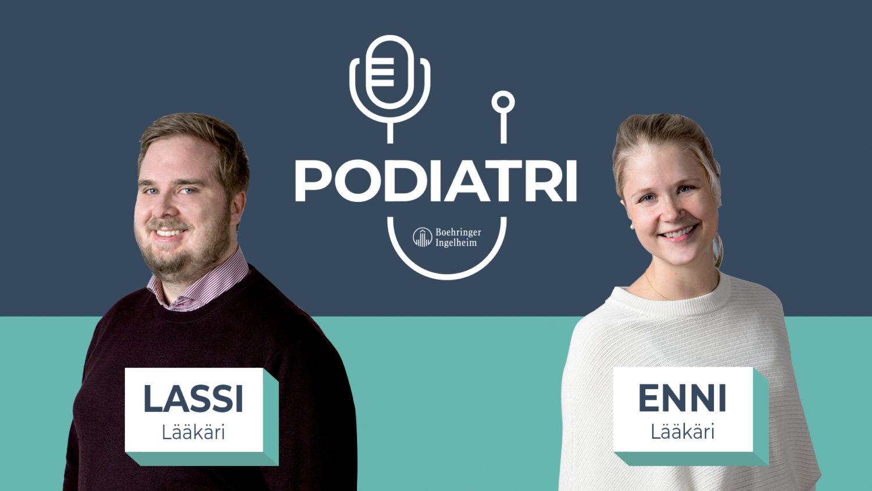 Podiatri-podcastin kansikuva
