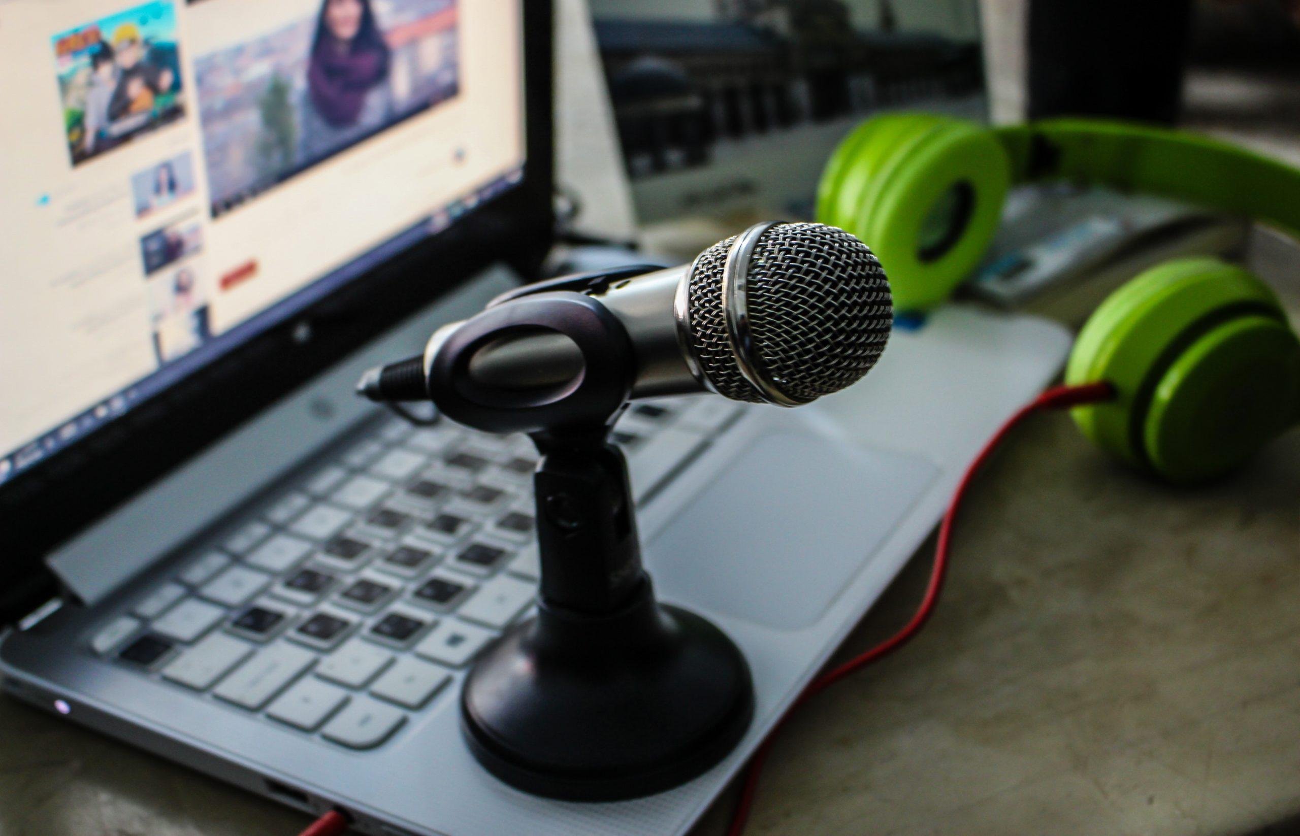 podcastin äänittäminen etänä