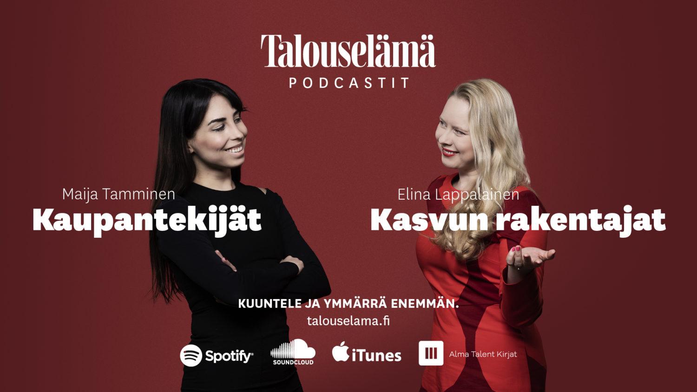 Kaupan tekijät ja Kasvun rakentajat -podcastien kansi